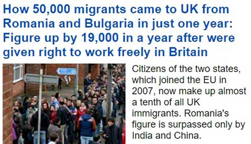 aflux romani uk dailymail