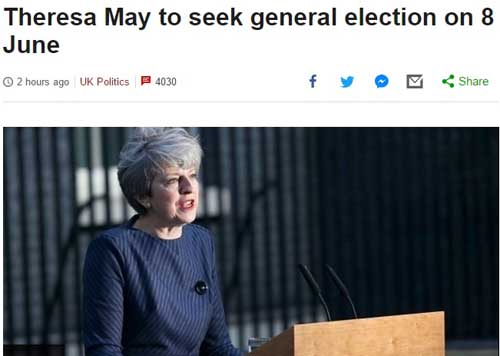 May anticipate bbc