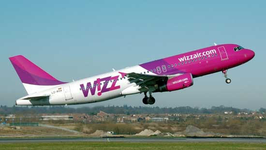 wizzair avion